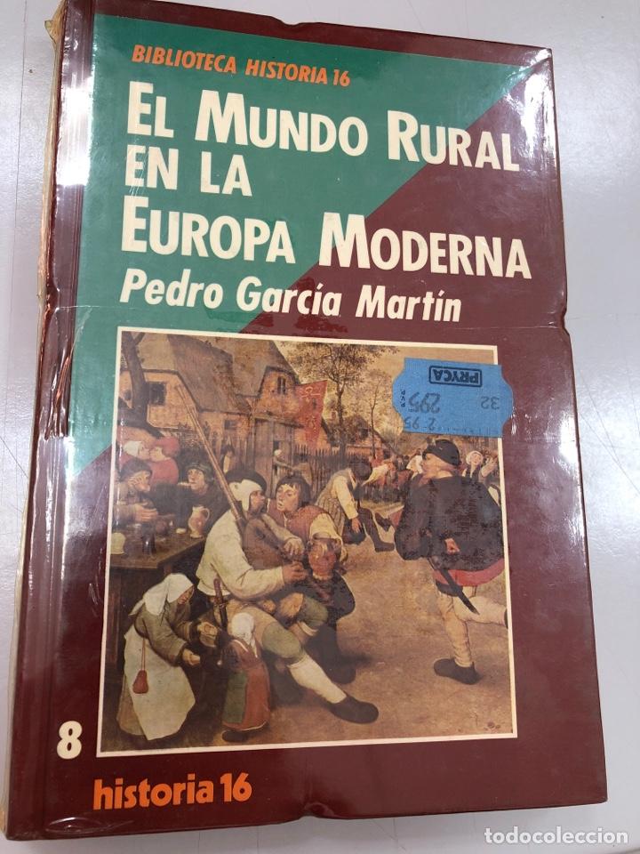 EL MUNDO RURAL EN LA EUROPA MODERNA PEDRO GARCIA MARTIN (Libros Nuevos - Historia - Historia Moderna)