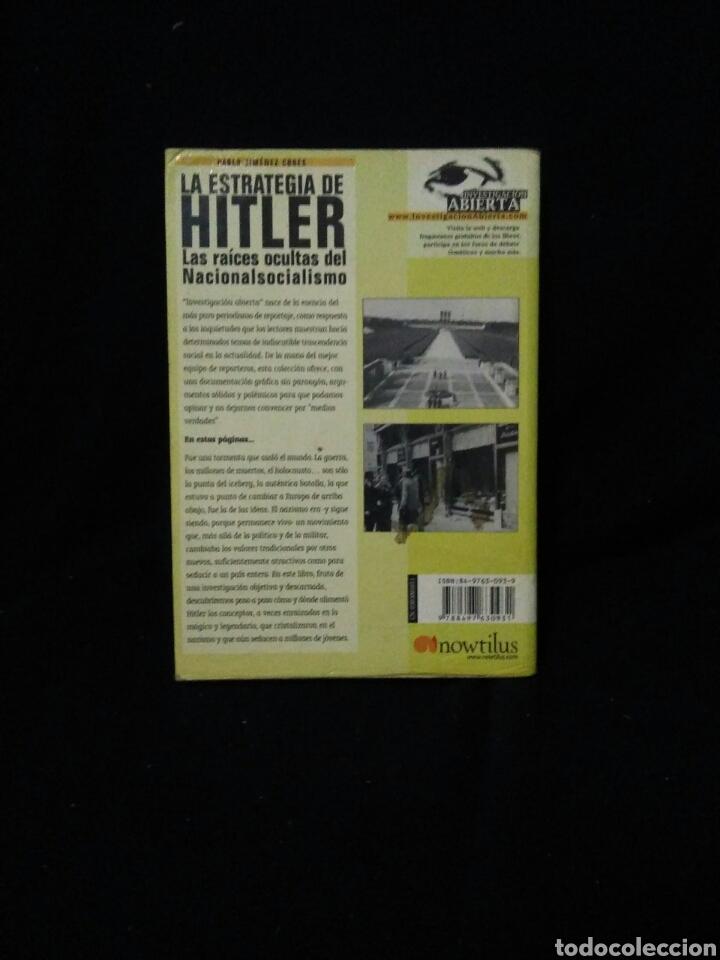 Libros: La estrategia de Hitler ,las raizes ocultas del nacional socialismo - Foto 3 - 269833588