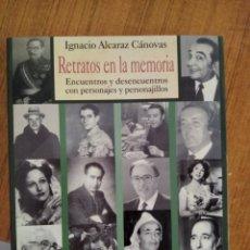 Libros: RETRATO EN LA MEMORIA. Lote 274707103