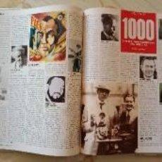 Libros: PROTAGONISTAS SIGLO XX - LIBRO DE FASCICULOS DE 'EL PAIS'. Lote 253352245