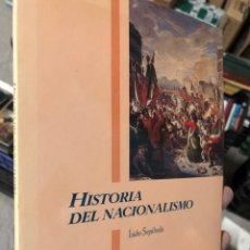 Libros: ISIDRO SEPULVEDA - HISTORIA DEL NACIONALISMO. Lote 287360058