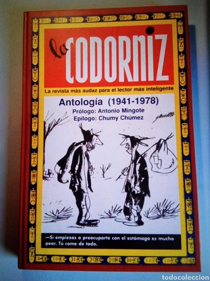LA CODORNIZ ANTOLOGÍA (1941-1978) EN PERFECTO ESTADO, NUNCA USADO. (Libros Nuevos - Historia - Historia Moderna)