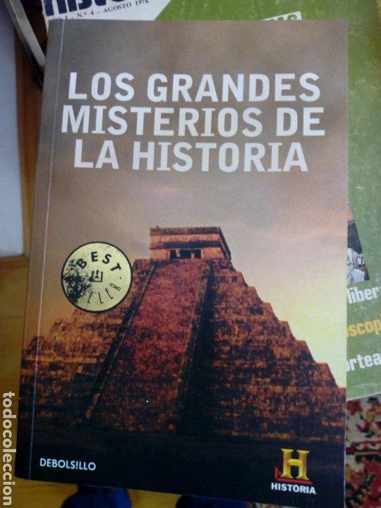 LIBRO LOS GRANDES MISTERIOS DE LA HISTORIA 2009 (Libros Nuevos - Historia - Historia Moderna)