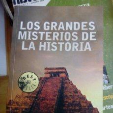 Libros: LIBRO LOS GRANDES MISTERIOS DE LA HISTORIA 2009. Lote 289202913
