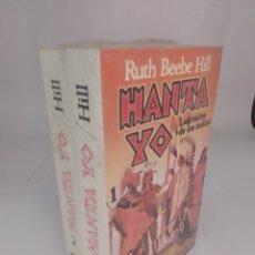 Libros: HANTA YO. LAS RAÍCES DE LOS INDIOS RUTH BEEBE HILL. 1 Y 2. Lote 289268498