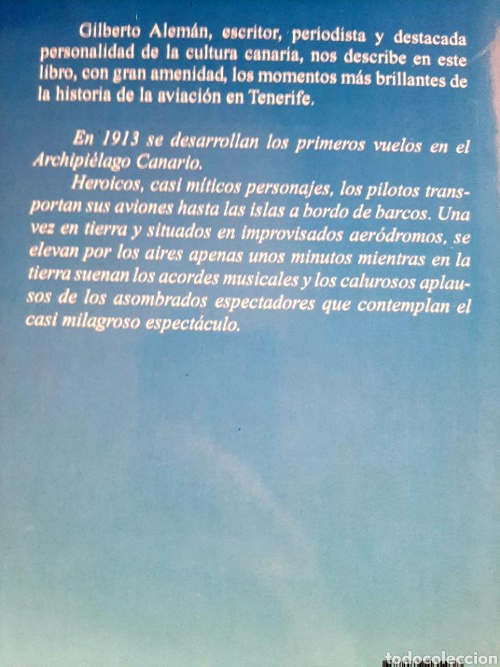 Libros: Vuelos históricos en Tenerife - Foto 2 - 289579788