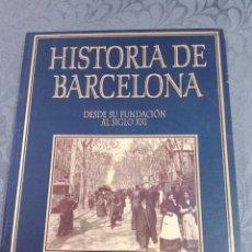 Libros: HISTORIA DE BARCELONA ILUSTRADA. Lote 293818818