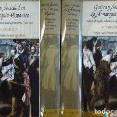 Libros: GARCÍA, ENRIQUE Y MAFFI, DAVIDE [EDS.]. GUERRA Y SOCIEDAD EN LA MONARQUÍA HISPÁNICA. 2 VOLS. 2006.. Lote 295718343