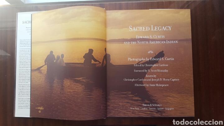 Libros: LIBRO SACRED LEGACY - Indios Americanos- 192pp. Año 2000 - Foto 2 - 125857176
