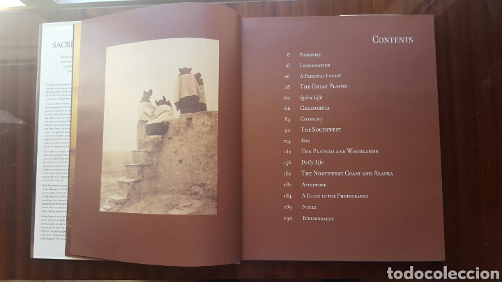 Libros: LIBRO SACRED LEGACY - Indios Americanos- 192pp. Año 2000 - Foto 3 - 125857176