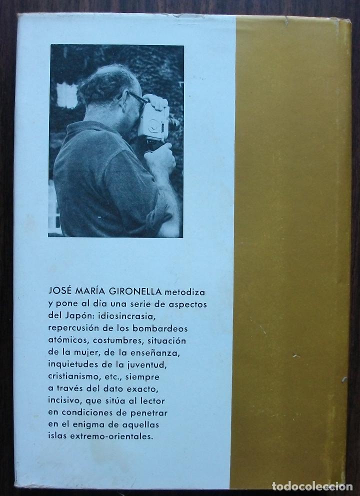 Libros: EL JAPON Y SU DUENDE. J.Mª. GIRONELLA. - Foto 2 - 147409662