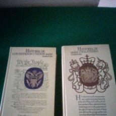 Libros: HISTORIA DE LOS ESTADOS UNIDOS E INGLATERRA. Lote 153646120