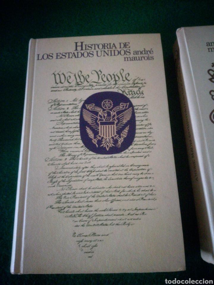 Libros: HISTORIA DE LOS ESTADOS UNIDOS E INGLATERRA - Foto 2 - 153646120