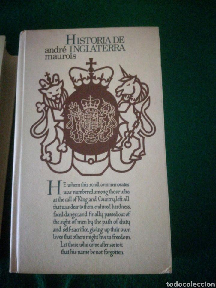 Libros: HISTORIA DE LOS ESTADOS UNIDOS E INGLATERRA - Foto 3 - 153646120