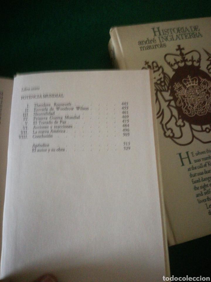 Libros: HISTORIA DE LOS ESTADOS UNIDOS E INGLATERRA - Foto 7 - 153646120