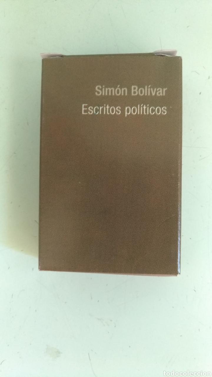 MINI LIBRO ESCRITOS POLÍTICOS, POR SIMÓN BOLÍVAR ( 9 X 6 CM) (Libros Nuevos - Historia - Historia por países)
