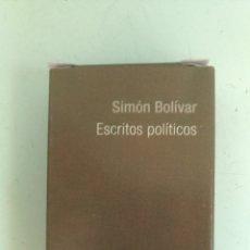 Libros: MINI LIBRO ESCRITOS POLÍTICOS, POR SIMÓN BOLÍVAR ( 9 X 6 CM). Lote 157950961