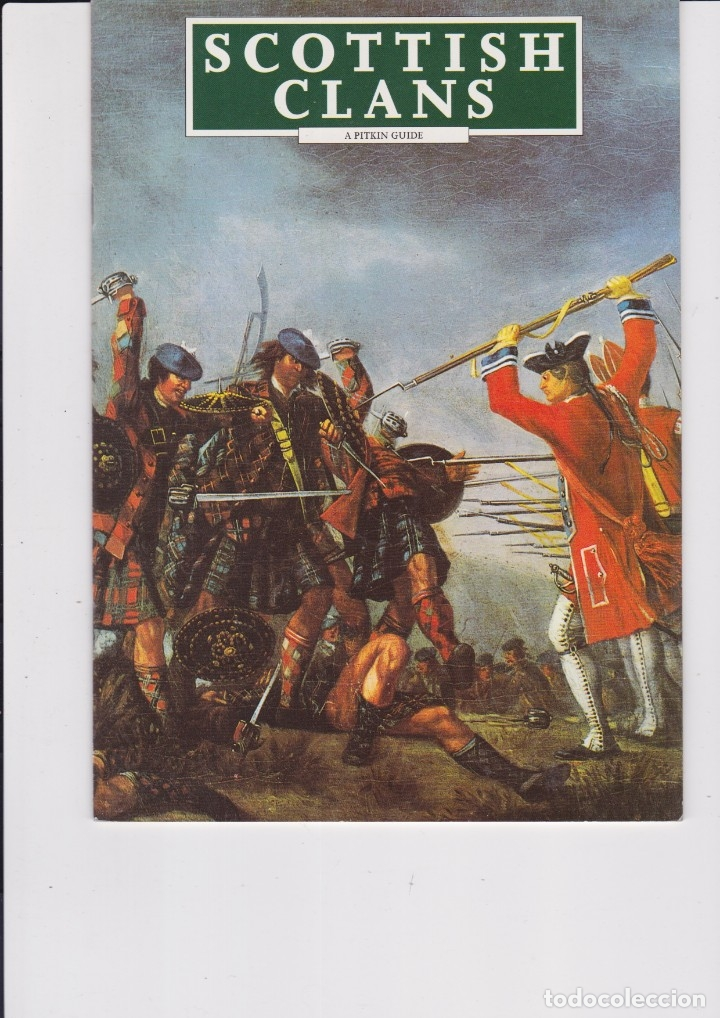 SCOTTISH CLANS. EN INGLÉS (Libros Nuevos - Historia - Historia por países)