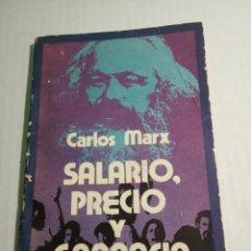 Libros: CARLOS MARX. Lote 172377362