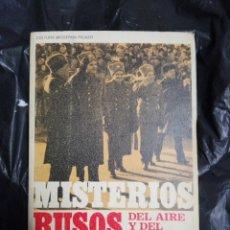 Libros: MISTERIOS RUSOS DEL AIRE Y EL ESPACIO 1970. Lote 176982209