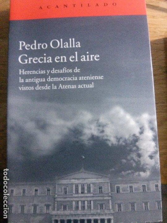 GRACIA EN EL AIRE, PEDRO OLALLA, ACANTILADO EDITORIAL. (Libros Nuevos - Historia - Historia por países)