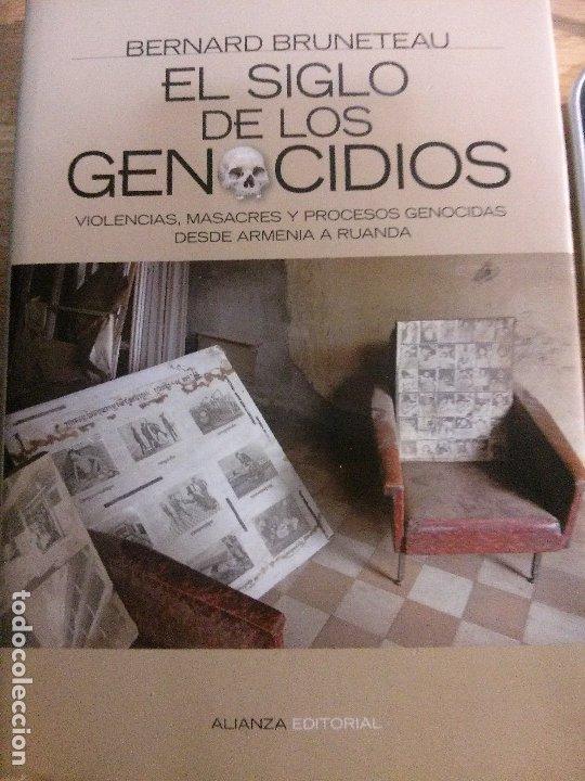 EL SIGLO DE LOS GENOCIDIOS, BERNARD BRUNETEAU, ALIANZA EDITORIAL. (Libros Nuevos - Historia - Historia por países)