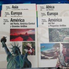 Libros: TIERRAS Y GENTES. Lote 179029023