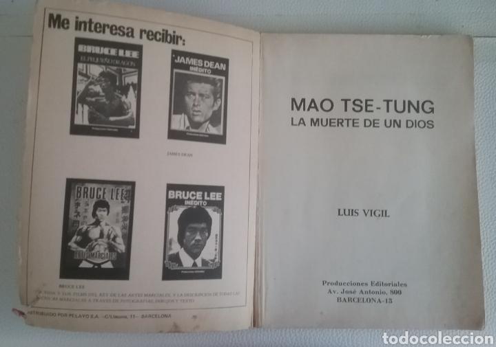 Libros: LA REVOLUCIÓN CHINA, Mao Tse-Tung, Producciones Editoriales 1976. - Foto 2 - 180987483