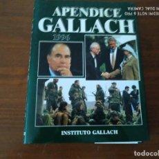 Libros: APÉNDICE GALLACH. Lote 184927026