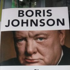 Libros: LIBRO EL FACTOR CHURCHILL. BORIS JOHNSON. EDITORIAL ALIANZA. AÑO 2015.. Lote 189533698