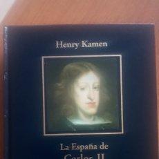 Libros: LA ESPAÑA DE CARLOS II. HENRY KAMEN. BIBLIOTECA HISTORIA DE ESPAÑA. 2005 RBA COLECCIONABLES. Lote 191987135