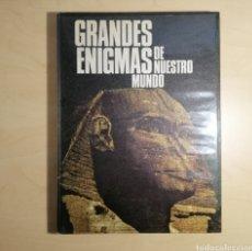 Libros: LIBRO GRANDES ENIGMAS DE NUESTRO MUNDO. Lote 192250778