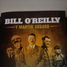 Libros: LIBRO MATAR A LOS SS. B. OREILLY/M. DUGARD. EDITORIAL LA ESFERA DE LOS LIBROS. AÑO 2020.. Lote 203748865