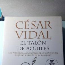 Libros: LIBRO EL TALÓN DE AQUILES. CÉSAR VIDAL. EDITORIAL MR. AÑO 2006.. Lote 195751210