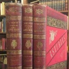 Libros: ASTURIAS. BELLMUNT Y CANELLA TRES VOLÚMENES. Lote 199110908