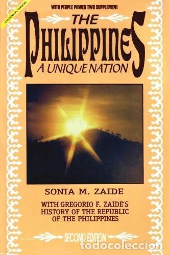 THE PHILIPPINES. A UNIQUE NATION (Libros Nuevos - Historia - Historia por países)