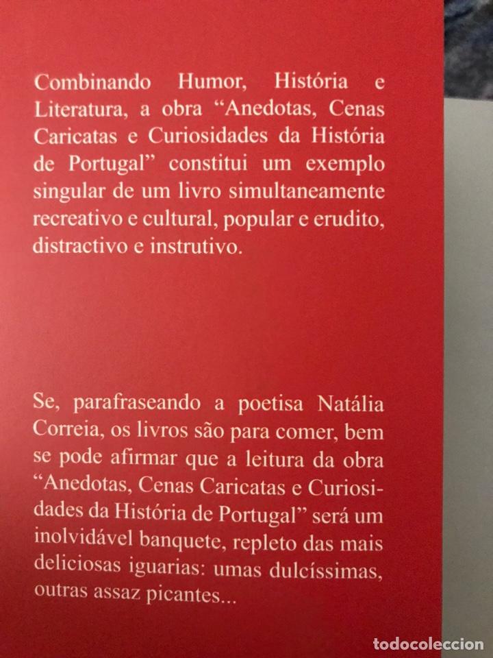 Libros: Anedotas, cenas caricatas e curiosidades da História de Portugal. Libro. Historia Portugal. Olivenza - Foto 4 - 170018790