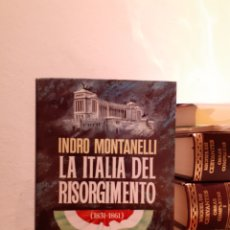 Libros: LA ITALIA DEL RISORGIMENTO 1831-1861. Lote 206123608