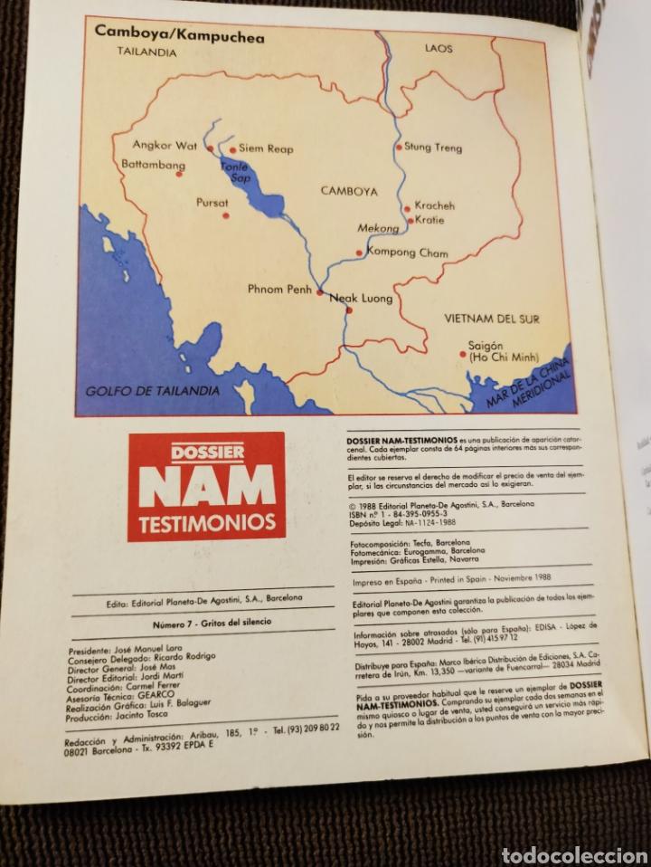 Libros: Dossier Nam Testimonios núm 7 - Gritos del silencio, Christopher Hudson, Planeta De Agostini, 1988 - Foto 3 - 208391188