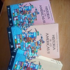 Libros: HISTORIA DE LAS AMERICAS TOMOS 1,2Y3. Lote 209364647