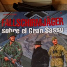 Libros: LIBRO FALLSCHIRMJAGER SOBRE EL GRAN SASSO. ÓSCAR GONZÁLEZ LÓPEZ. EDITORIAL QUIRÓN. AÑO 2006.. Lote 213521685