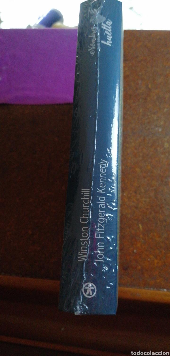 Libros: NOMBRES QUE DEJARON HUELLA WINSTON CHURCHILL Y JOHN FITZGERALD KENNEDY - Foto 2 - 228000590