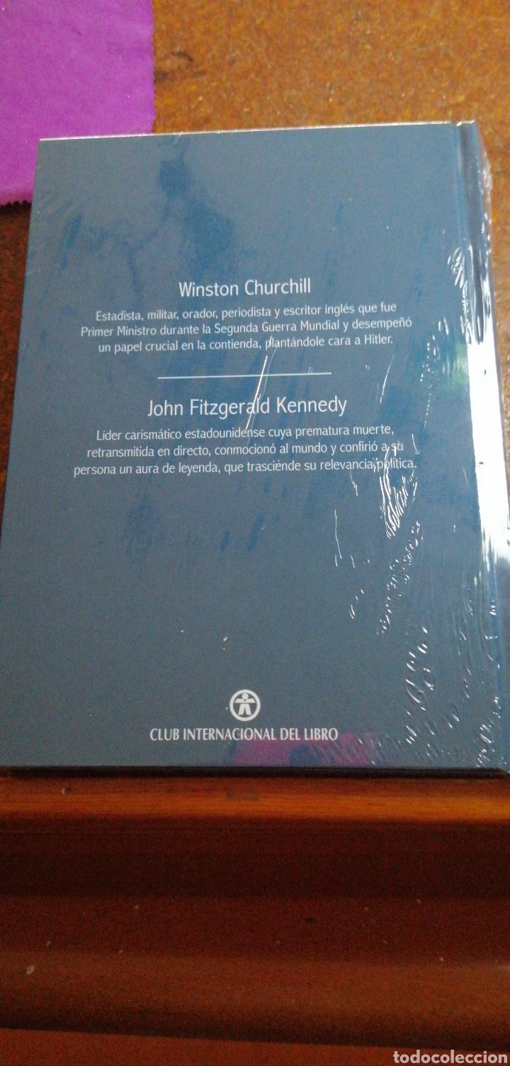 Libros: NOMBRES QUE DEJARON HUELLA WINSTON CHURCHILL Y JOHN FITZGERALD KENNEDY - Foto 3 - 228000590