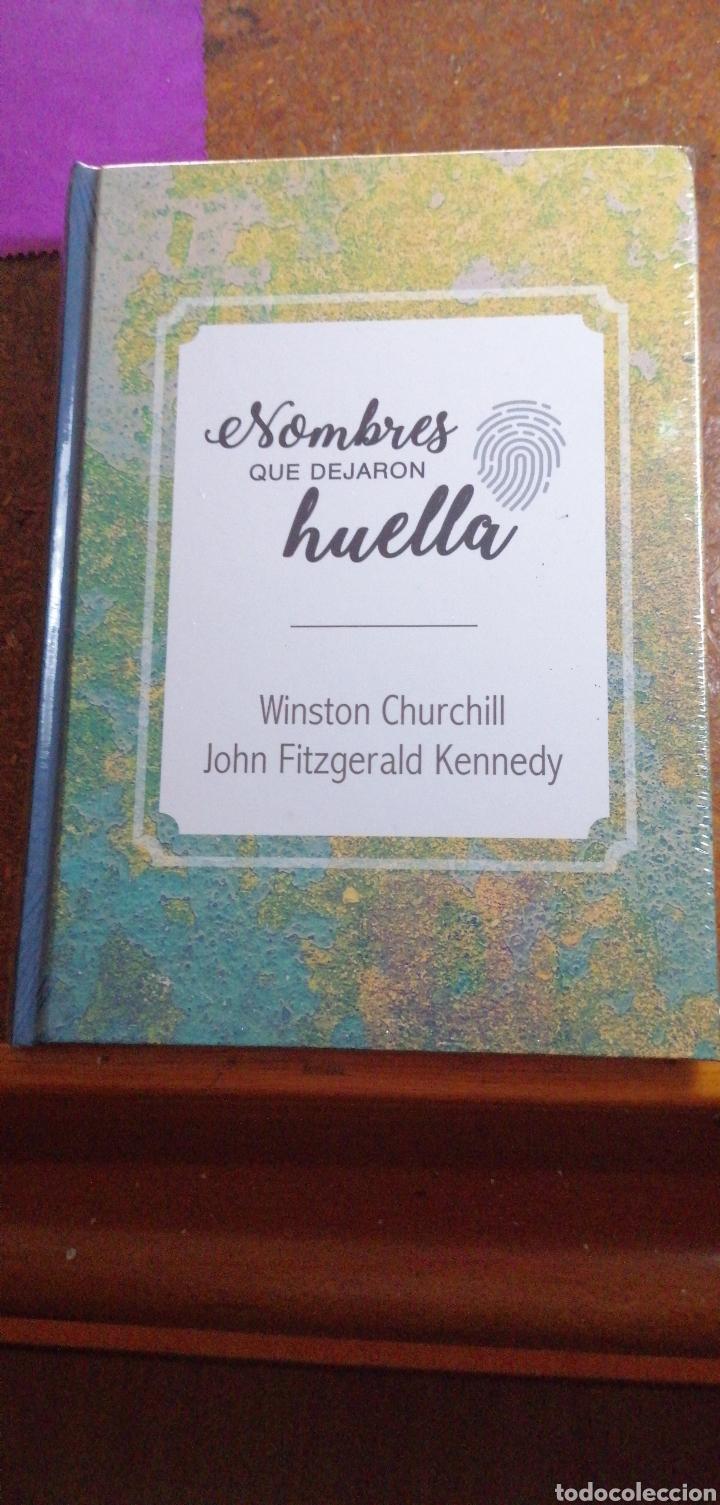 NOMBRES QUE DEJARON HUELLA WINSTON CHURCHILL Y JOHN FITZGERALD KENNEDY (Libros Nuevos - Historia - Historia por países)