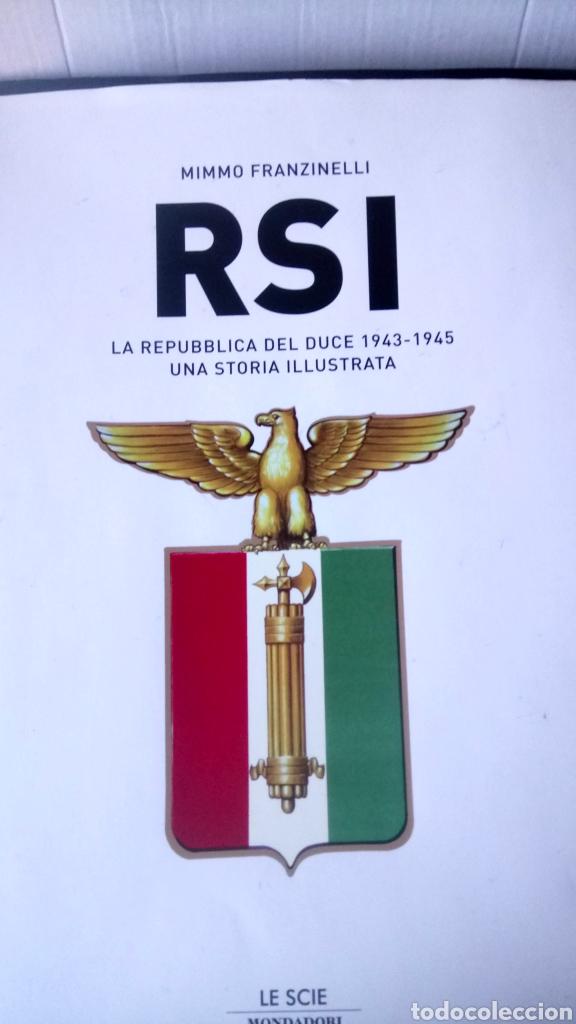 LIBRO RSI (1943-1945).MIMMO FRANZINELLI. EDITORIAL MONDADORI. AÑO 2007. (Libros Nuevos - Historia - Historia por países)