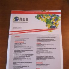 Libros: REVISTA DE ESTUDIOS BRASILEÑOS. VOLUMEN 1, 2014. VARIOS AUTORES. Lote 242985210