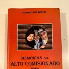 """Libros: """"MEMORIAS DEL ALTO COMISIONADO PARA IRAQ"""" - FERNANDO DÍEZ MORENO. Lote 245159945"""