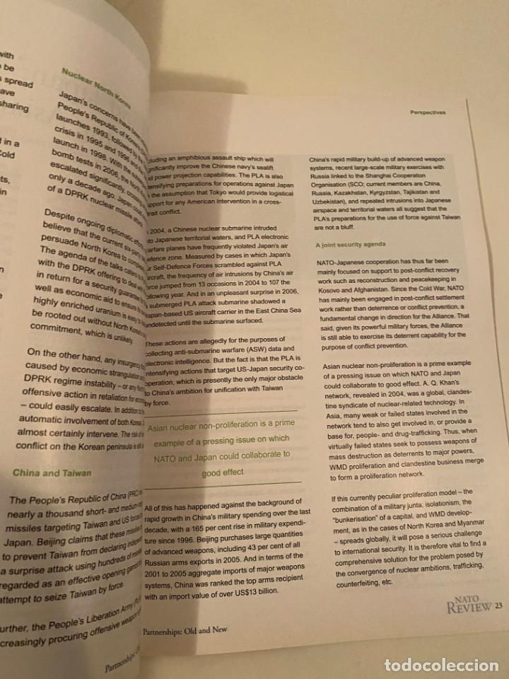 """Libros: """"NATO REVIEW"""" - Foto 3 - 245382255"""