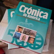 Libros: CRÓNICA DE AMERICA. Lote 264055625