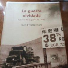 Libros: LA GUERRA OLVIDADA (HISTORIA DE LA GUERRA DE COREA) D. HALBERSTAM. Lote 266351083